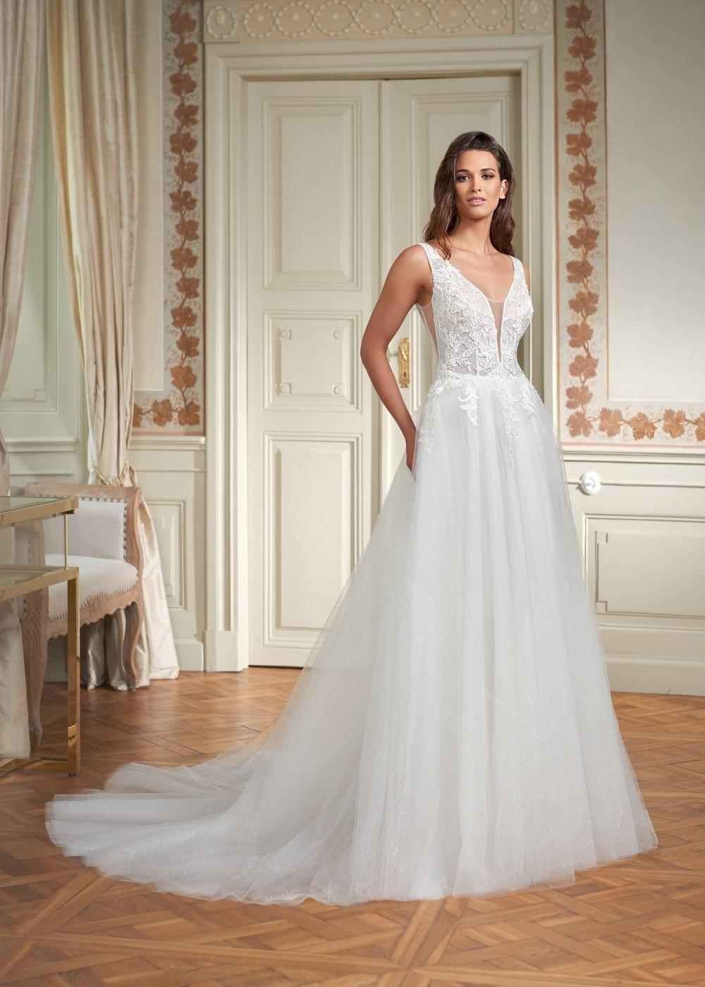 Suknia ślubna Margarett - COLLEZIONE CRISTALLO Cadiz