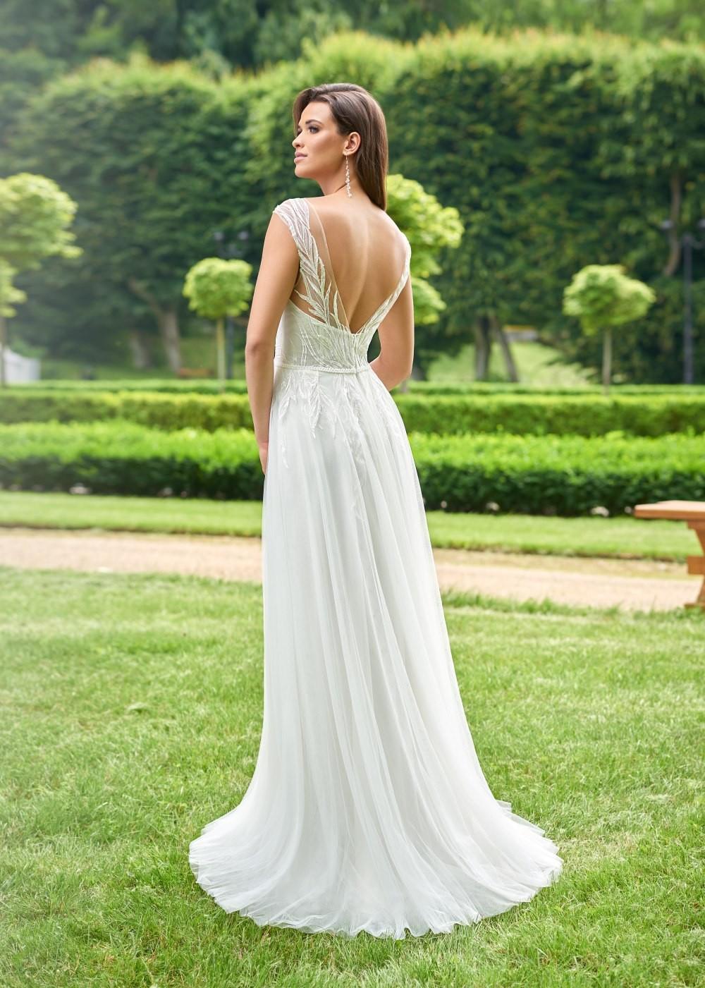 Suknia ślubna Margarett - COLLEZIONE CRISTALLO Cavita