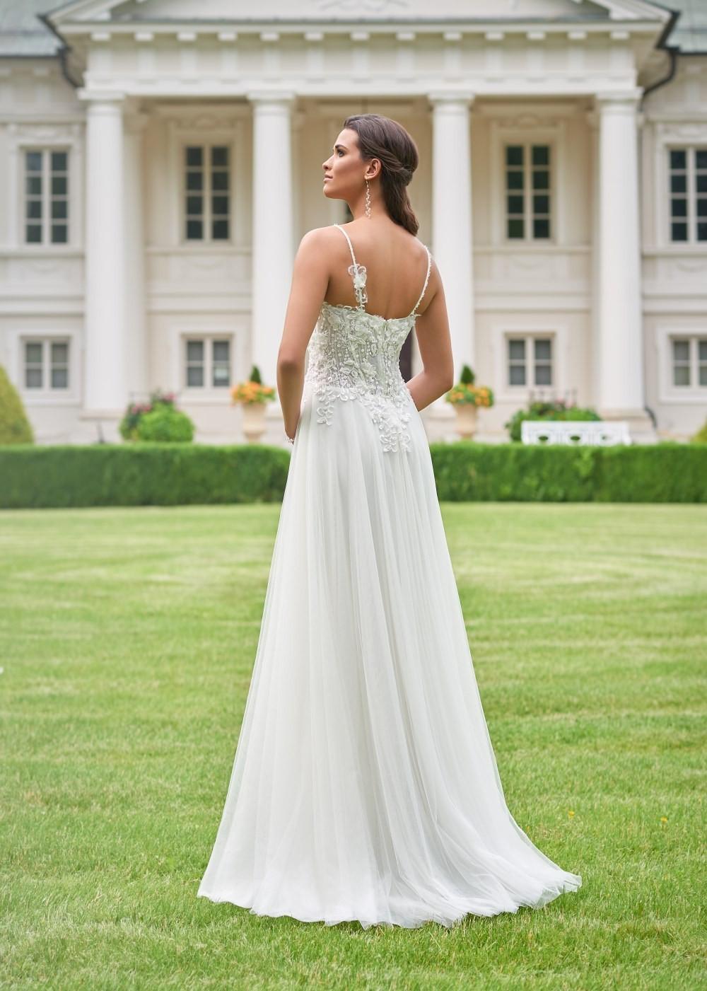 Suknia ślubna Margarett - COLLEZIONE CRISTALLO Capri