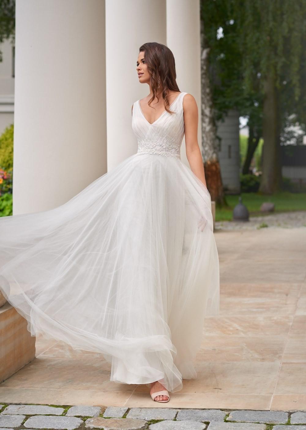 Suknia ślubna Margarett - COLLEZIONE CRISTALLO Contessa
