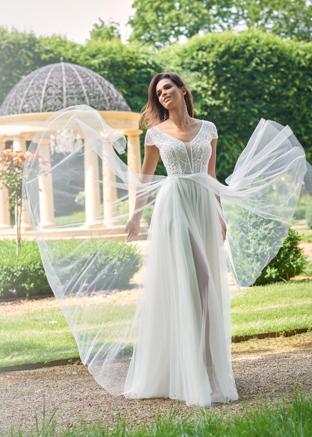 Suknia ślubna Margarett - COLLEZIONE CRISTALLO Claudia