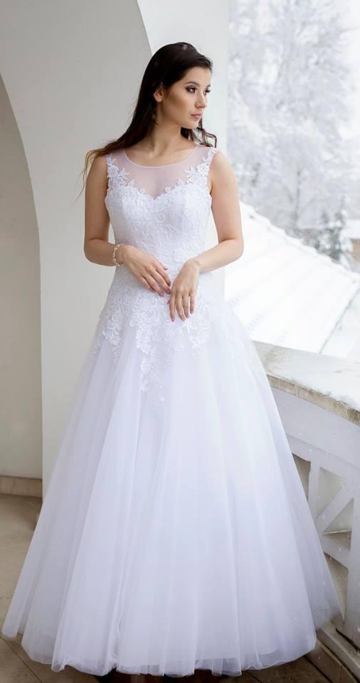 Suknia ślubne ADORA kolekcja BASILE model B24