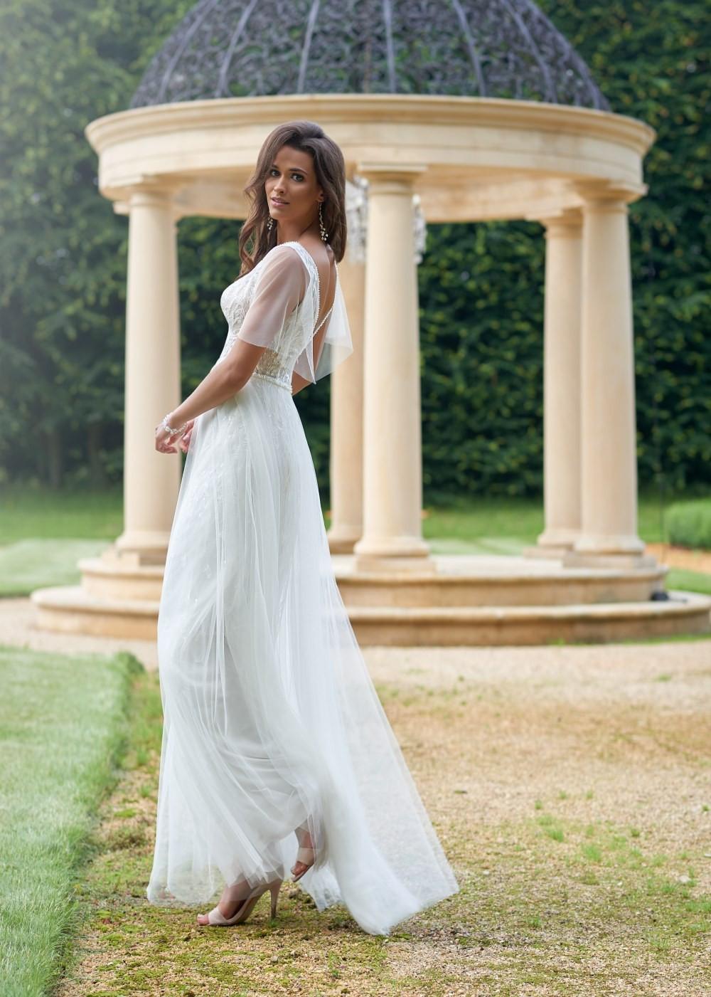 Suknia ślubna Margarett - COLLEZIONE CRISTALLO Cosima