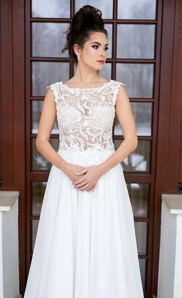 Suknia ślubne ADORA kolekcja BASILE model B20