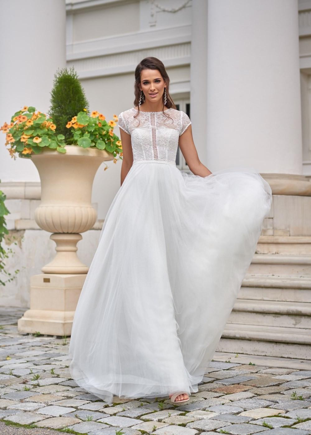 Suknia ślubna Margarett - COLLEZIONE CRISTALLO Camilia