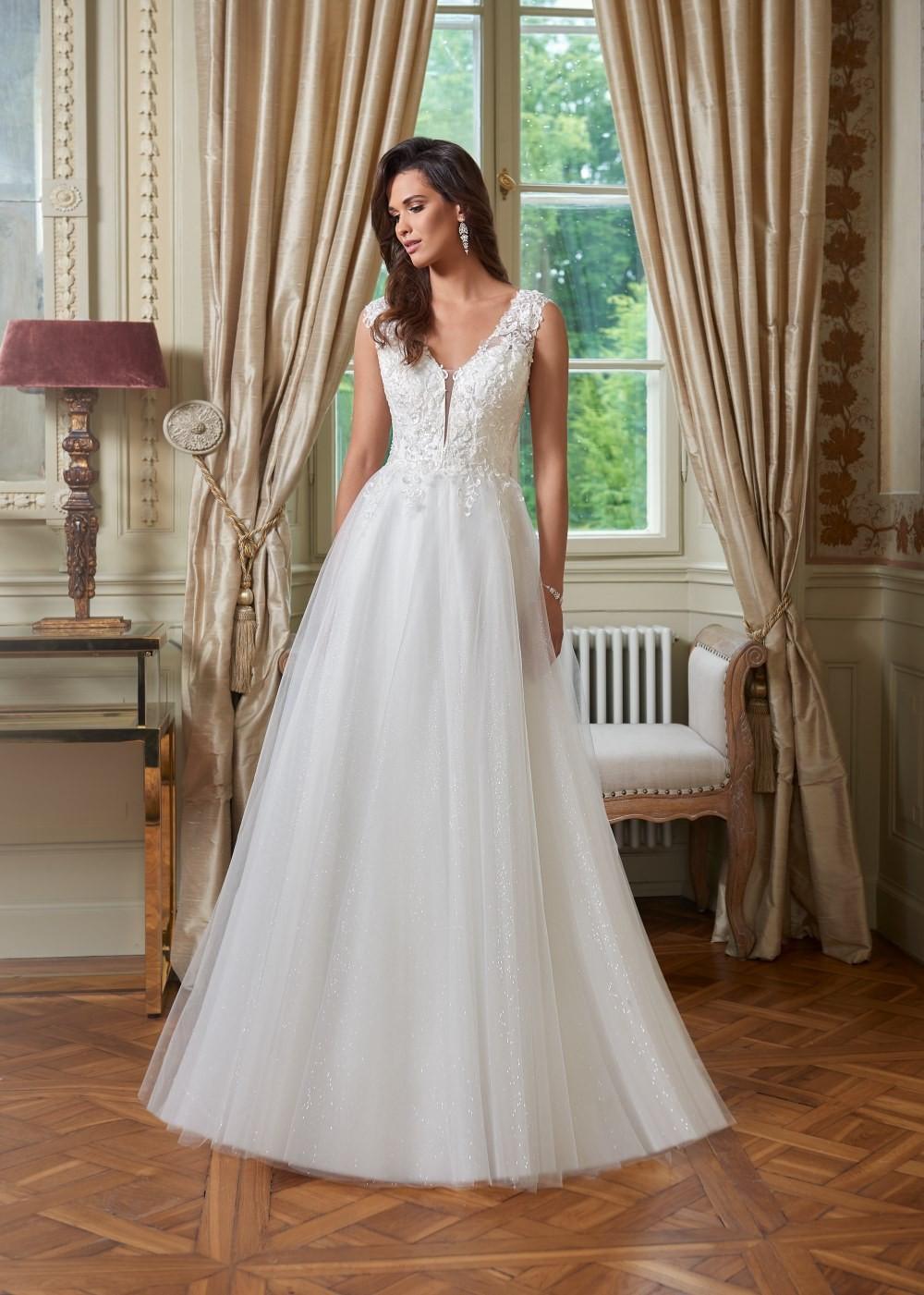 Suknia ślubna Margarett - COLLEZIONE CRISTALLO Caterina