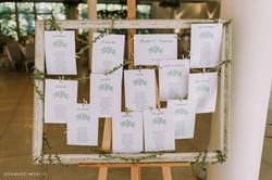 tablica gości weselnych zioła