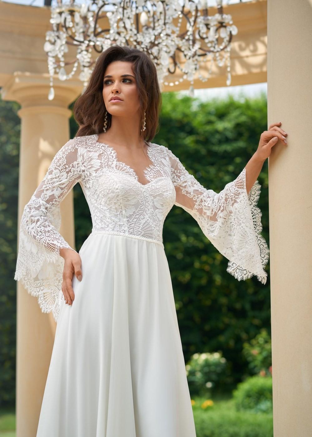 Suknia ślubna Margarett - COLLEZIONE CRISTALLO Corfu