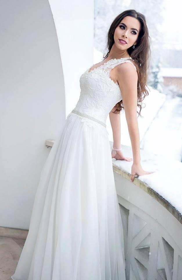 Suknia ślubne ADORA kolekcja BASILE model B19