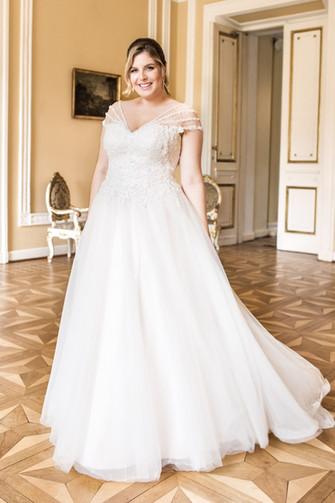 Suknie ślubne dla puszystych 2019 Agnes Fashion Group kolekcja LOVELY 2019