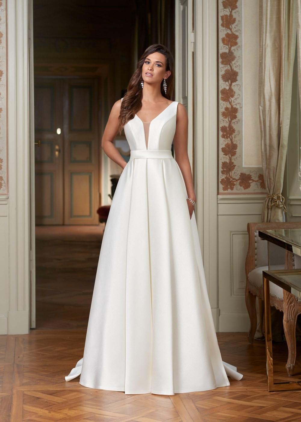 Suknia ślubna Margarett - COLLEZIONE CRISTALLO Callas