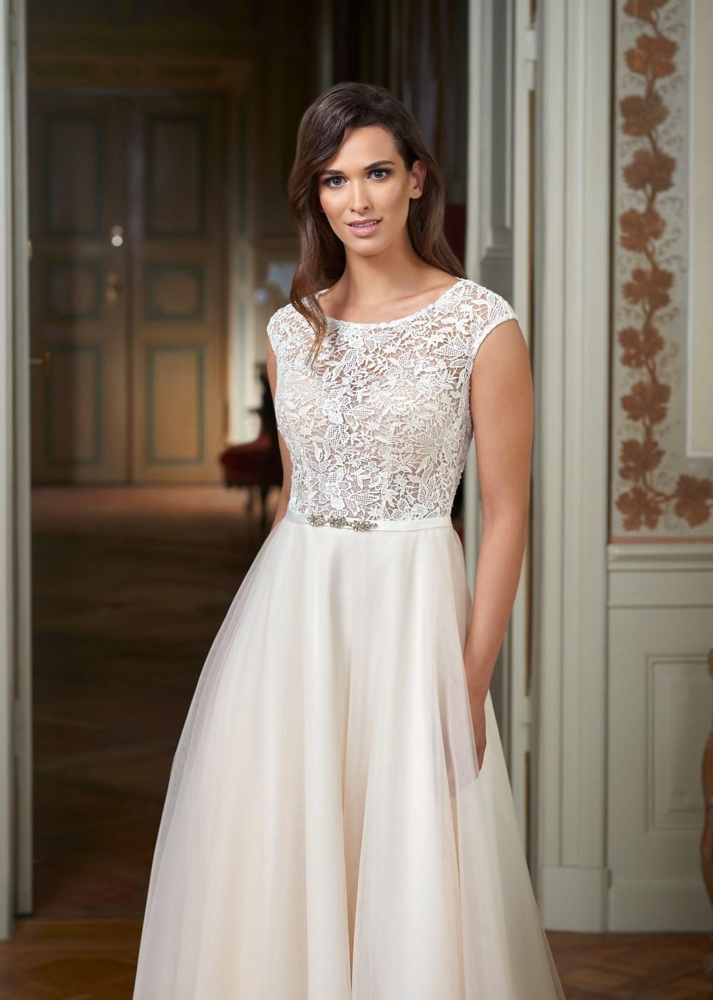 Suknia ślubna Margarett - COLLEZIONE CRISTALLO Como