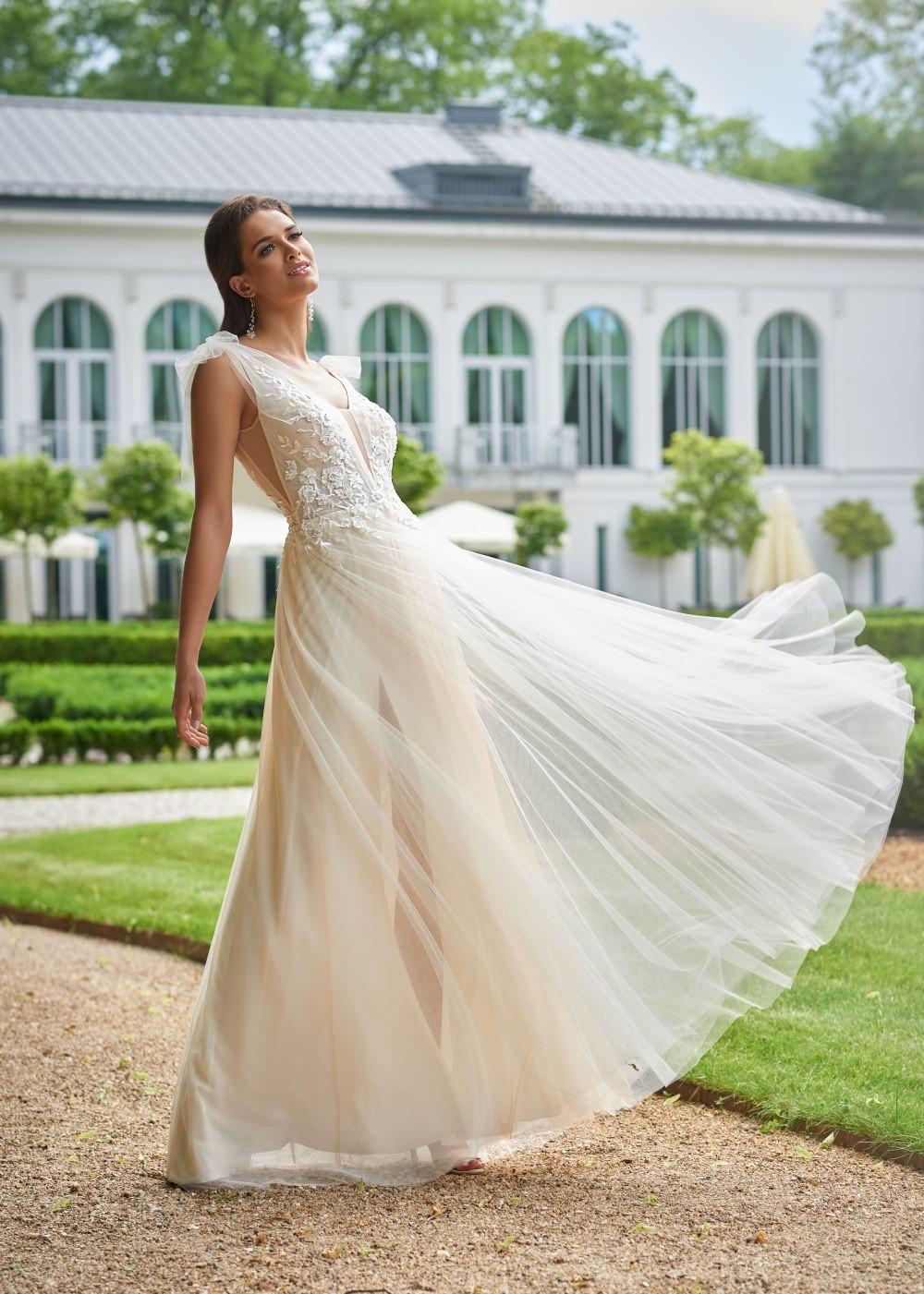 Suknia ślubna Margarett - COLLEZIONE CRISTALLO Christine