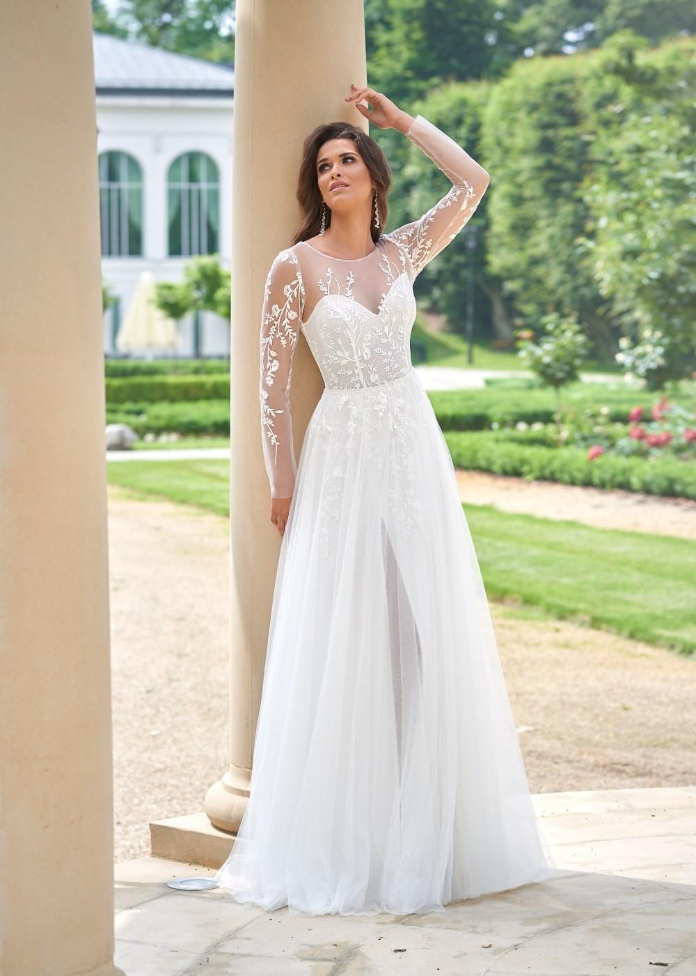 Suknia ślubna Margarett - COLLEZIONE CRISTALLO Camelia
