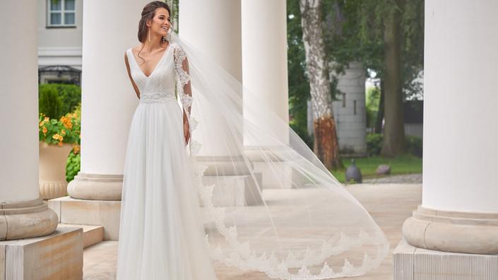 Suknie ślubne Margarett - kolekcja sukien ślubnych 2021 Collezione Cristallo