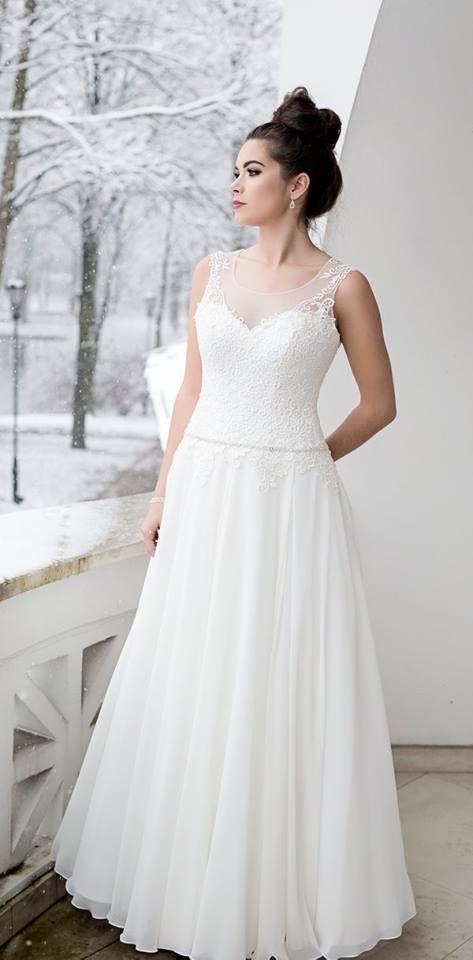 Suknia ślubne ADORA kolekcja BASILE model B13