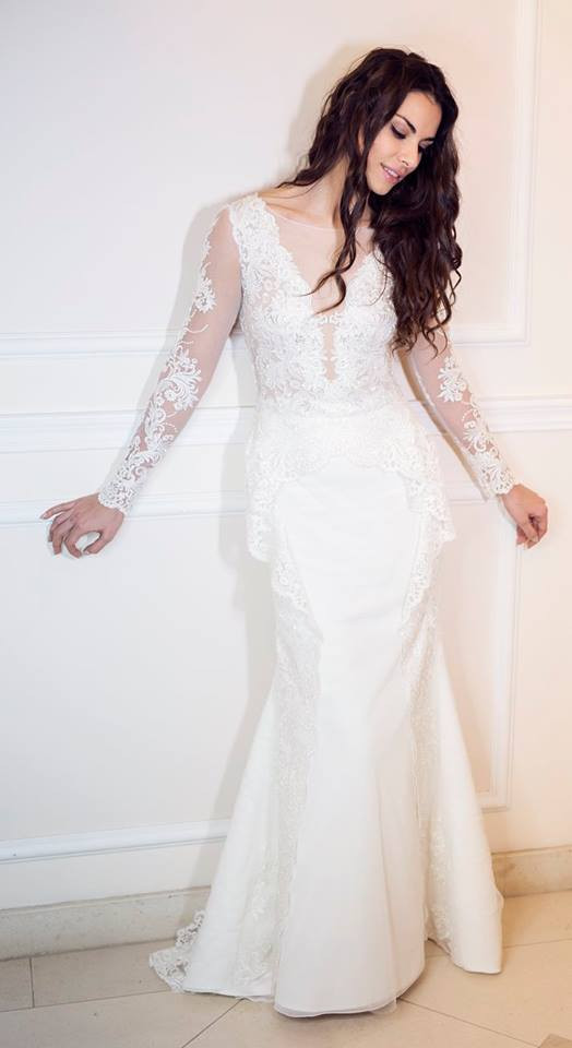 Suknia ślubne ADORA kolekcja BASILE model B12