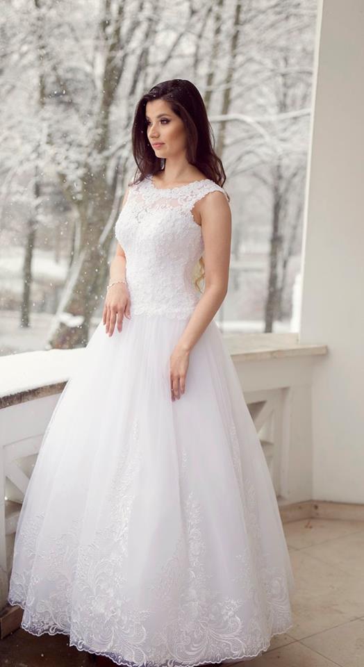 Suknia ślubne ADORA kolekcja BASILE model B25