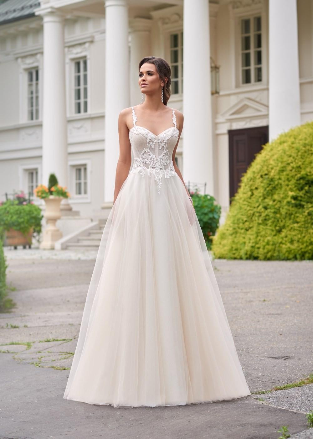 Suknia ślubna Margarett - COLLEZIONE CRISTALLO Coletta