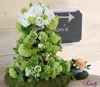 DIY - wiosenna kwiatowa patera