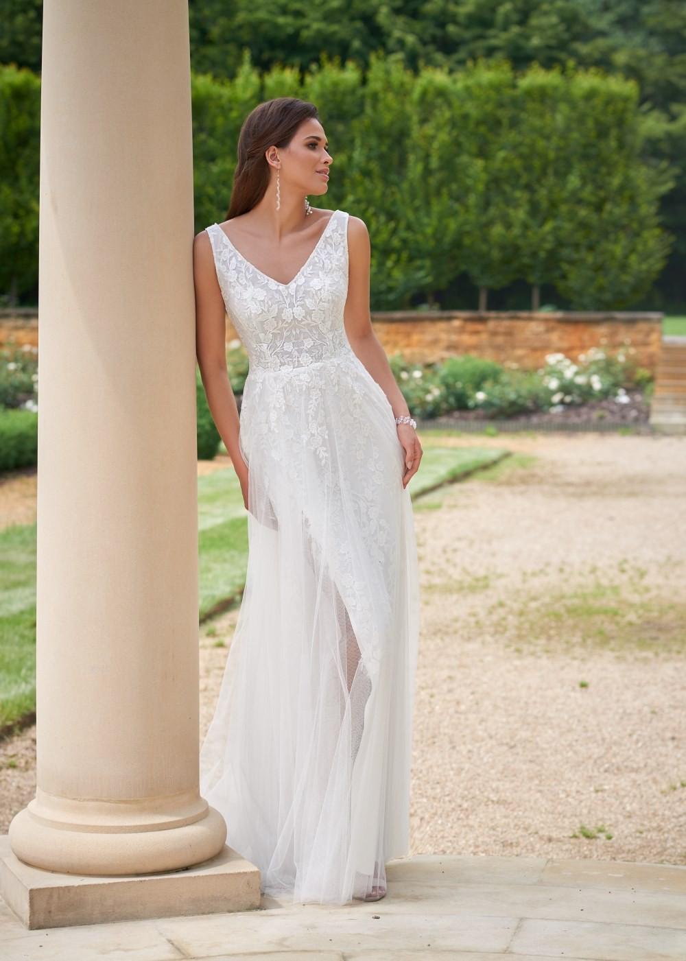 Suknia ślubna Margarett - COLLEZIONE CRISTALLO Cassie