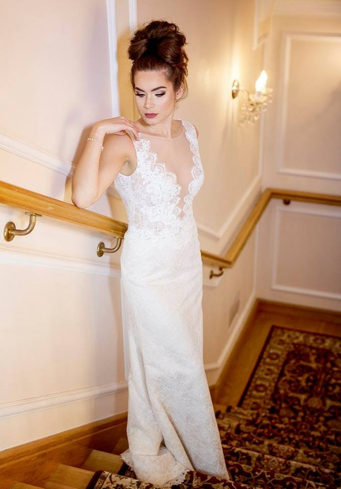 Suknia ślubne ADORA kolekcja BASILE model B15