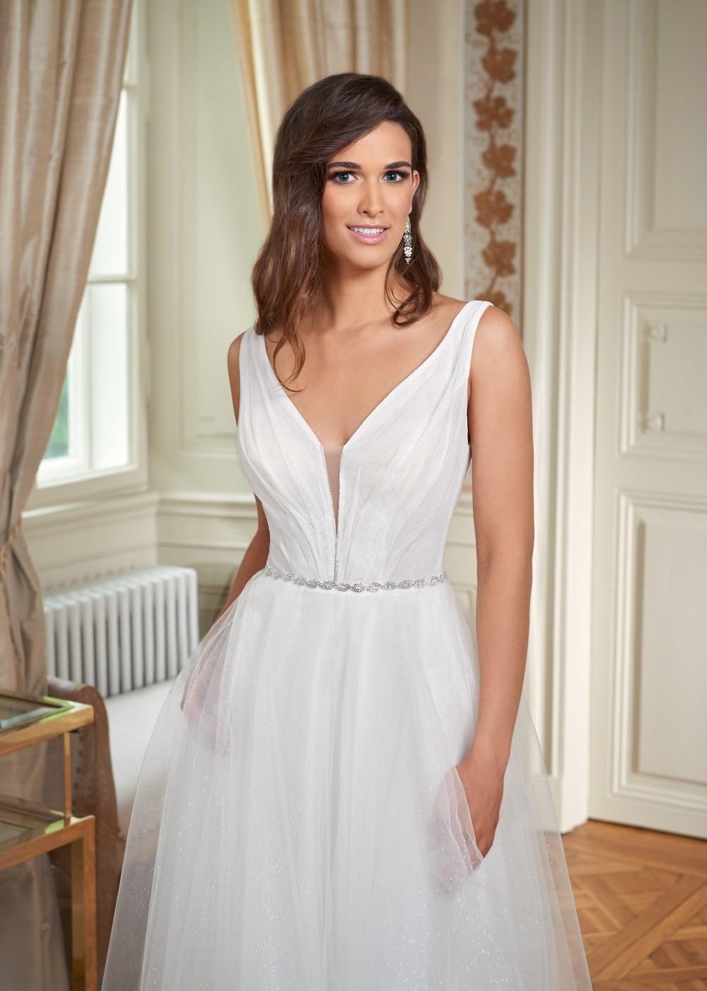 Suknia ślubna Margarett - COLLEZIONE CRISTALLO Cannes