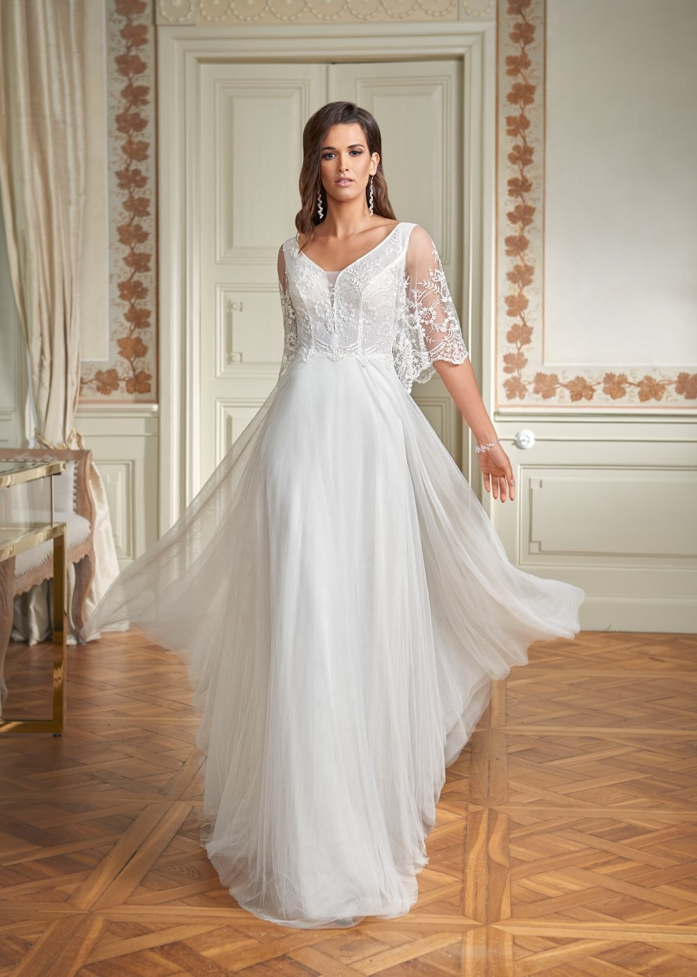 Suknia ślubna Margarett - COLLEZIONE CRISTALLO Carey