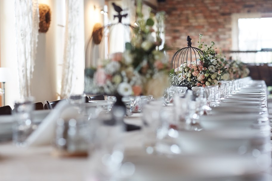 dekoracja ślubna rustykalna