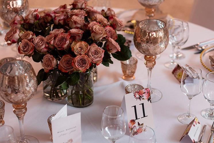 butterfly wedding detale dekoracja