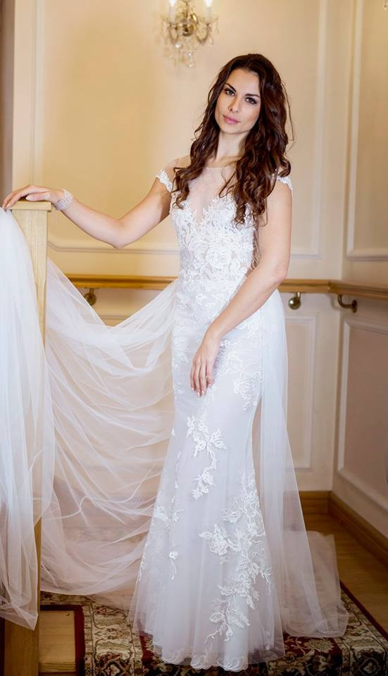 Suknia ślubne ADORA kolekcja BASILE model B08