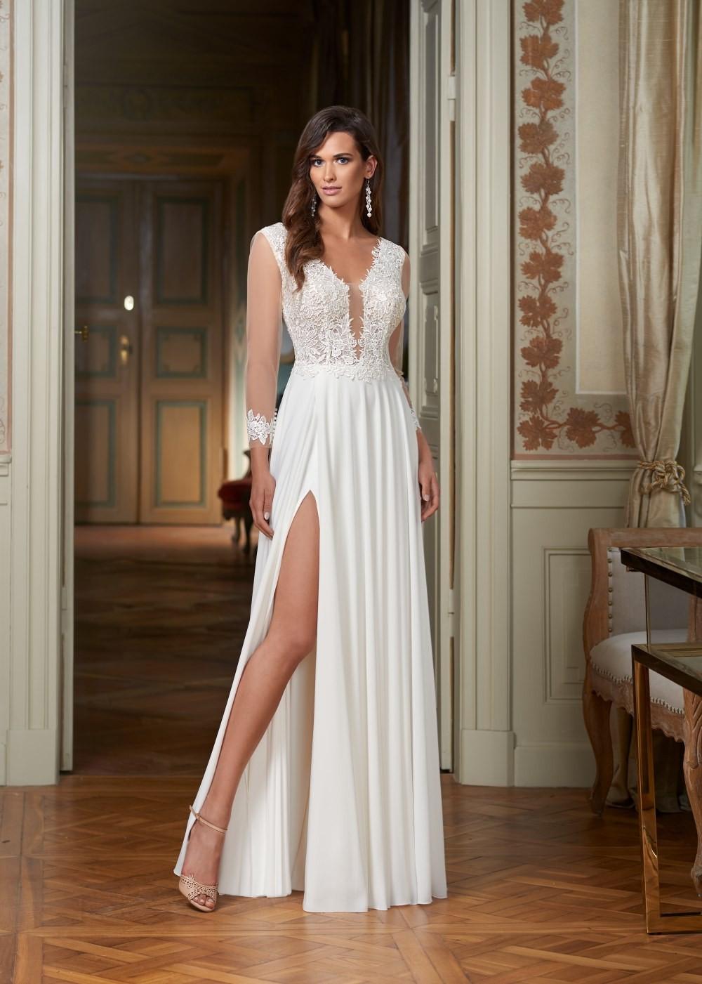 Suknia ślubna Margarett - COLLEZIONE CRISTALLO Caroline