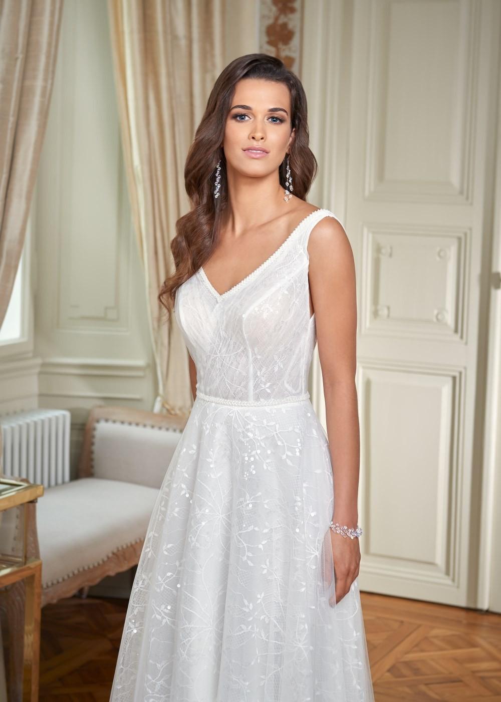 Suknia ślubna Margarett - COLLEZIONE CRISTALLO Cecina
