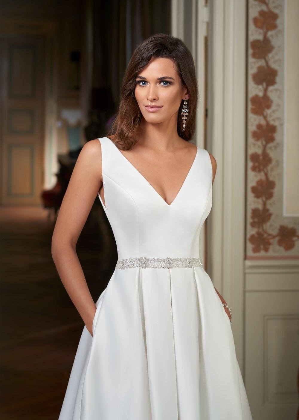 Suknia ślubna Margarett - COLLEZIONE CRISTALLO Colombia