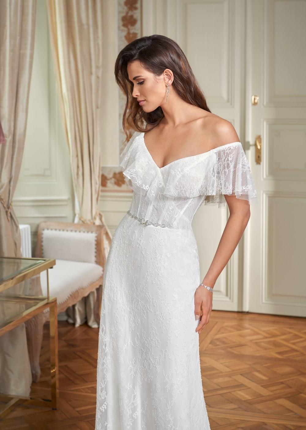 Suknia ślubna Margarett - COLLEZIONE CRISTALLO Clementina
