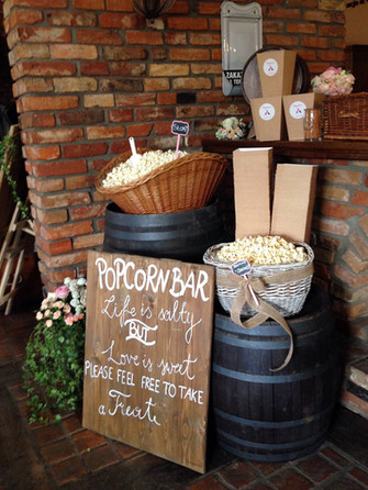Popcorn bar na wesele a może na poprawiny?