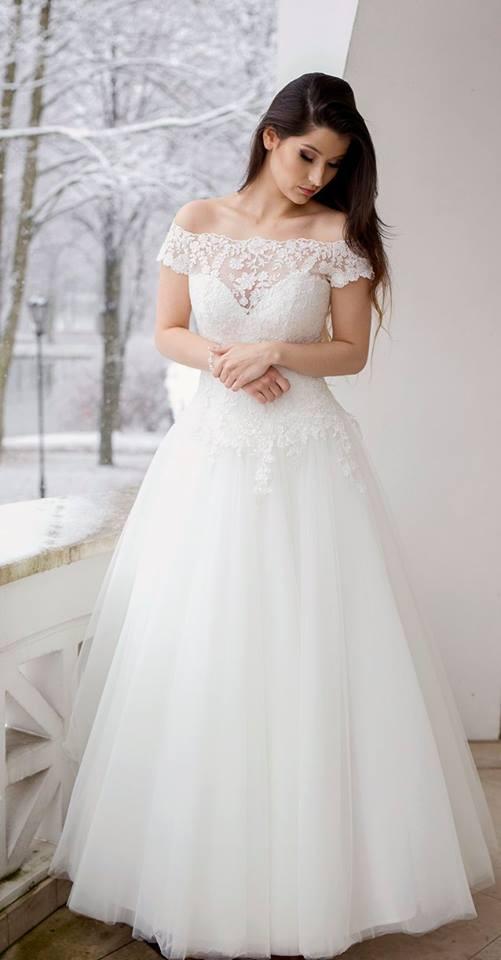 Suknia ślubne ADORA kolekcja BASILE model B17