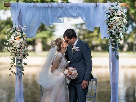 Ślub symboliczny Marty i Stephana