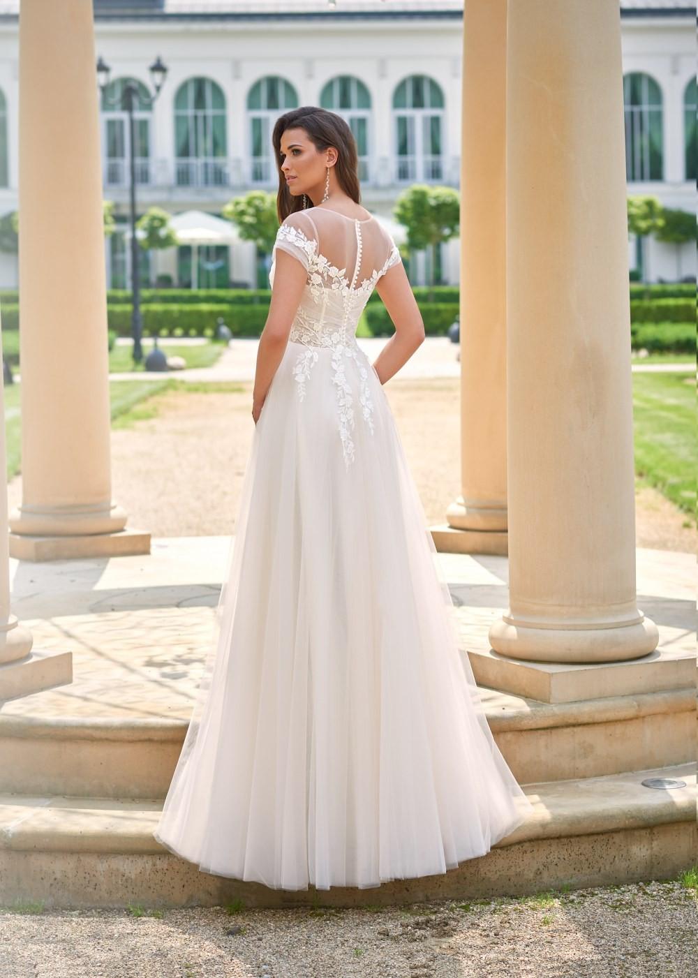 Suknia ślubna Margarett - COLLEZIONE CRISTALLO Casandra