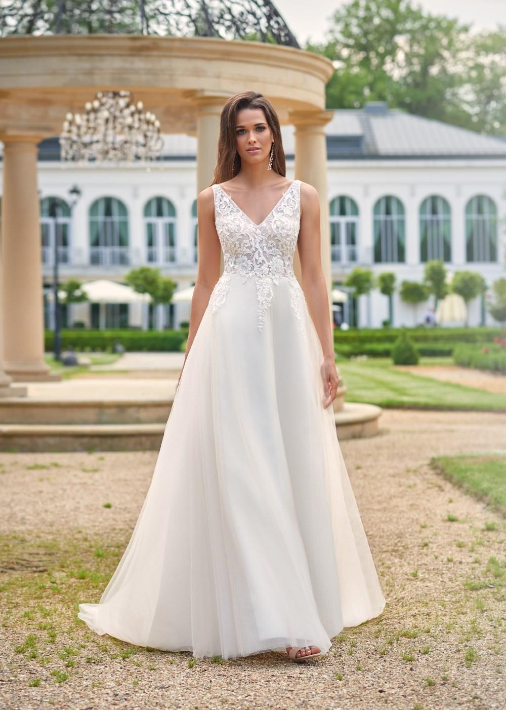 Suknia ślubna Margarett - COLLEZIONE CRISTALLO Cindy