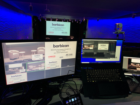 Barbican Business Events welcomes clients back with hybrid event packages