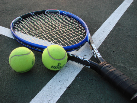 Game, Set, Match for my weekend of Tennis