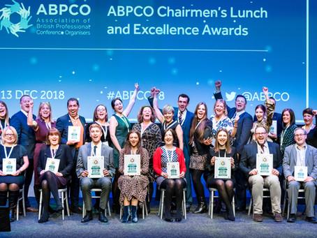 ICC Belfast, Diabetes UK, TFI Group and Brightelm win at ABPCO Awards.