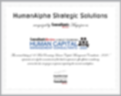 """HumanAlpha recognized among the """"10 Most Promising Human Capital Management Consultants - 2020"""" by Consultants Review"""