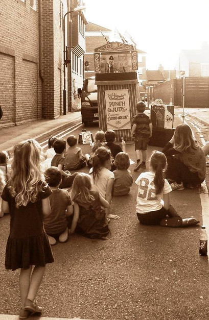 Punch and Judy street show