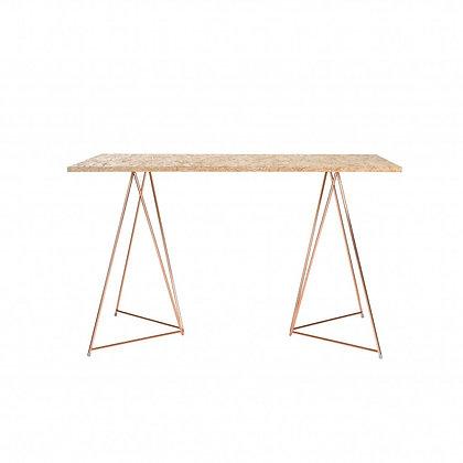 Stůl - překližkové prkno - kovové nohy - Master & Master