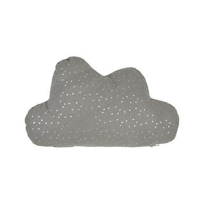 Ozdobný polštářek - šedý mrak