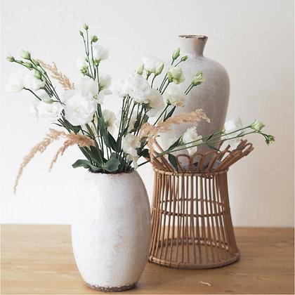 Vysoká váza popraskaná / set 2 ks