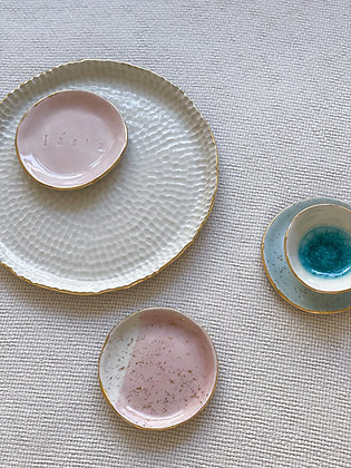 Lvice v porcelánu / set 5 ks