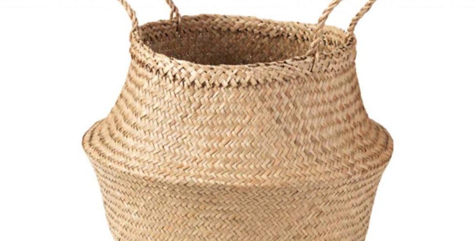 Košík z mořské trávy